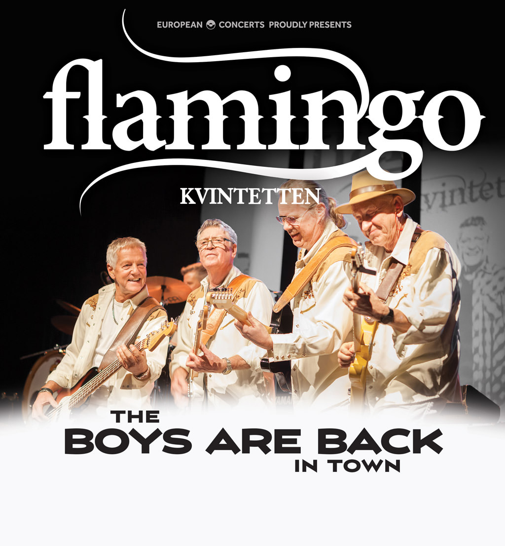 Flamingokvintetten - The Boys are Back in Town